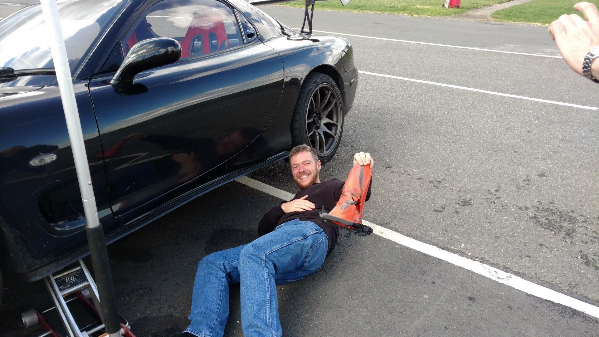 Mazda kills cone
