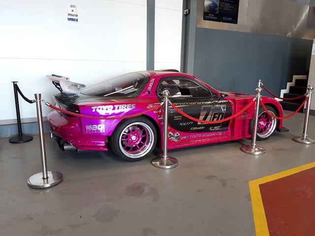Stolen pink RX7
